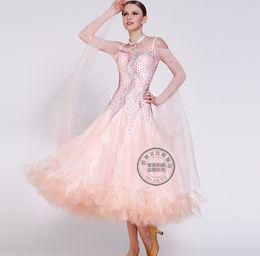 pink patchwork customize Fox trot ballroom Waltz tango salsa Quick step competition dress