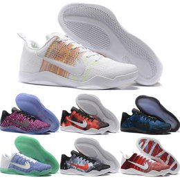 Wholesale 2016 New Cheap Kobe XI Elite Basketball Shoes Men Retro Kobe Sneakers High Quality Online Original Discount BHM Sports Shoes Size
