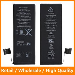 Wholesale Cell Phone Battery for iPhone Original AAAAA Quality Liion Battery for iPhone s s c s s Plus Replacement Battery