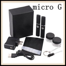 E-Cig Micro Action Bronson G Electronic Cigarette for Wax or Dry Herb Vapor Cigarettes Kits Herbal Dry Herb Atomizer
