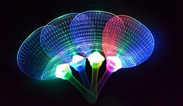 Wholesale Gags Practical Jokes Children s colorful flash butterfly toy bear glowing fan night market Novelty Gag Toys