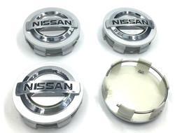 Wholesale 4pcs set mm ABS Chrome Wheel Center Hub Caps Hubcap FOR Nissan Aeolus Primera Altima MICRA NOTE QASHQAI