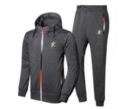 Wholesale définir BBC Billionaire Boys Club Mens zipp Hoodie pantalon expédition costume sweatshirt vestes de manteau de style chaud gratuit