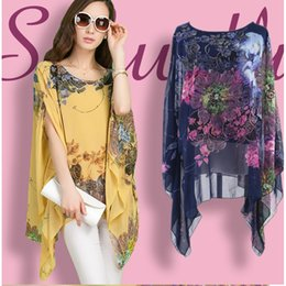Plus Size Summer Dresses Loose Print Batwing Sleeve Brand Style Fashion Casual Women's Clothing Bohemian Dresses New High Quality Hot Sale