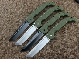Wholesale 10 types Newest Cold Steel KNIVES XL SIZE VOYAGER series Big folding knife utility survival knifes hunting tactical outdoor camping tool