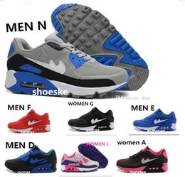 Wholesale 2016 New Sport White Red Maxs Cushion men Running Shoes Maxs New Women Running Sneakers American Air Hyperfused Trainers