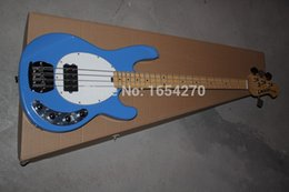 Wholesale Standard Music strings bass music man stingRay electric bass guitar with V Battery active pickups