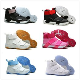 Wholesale Cheap Basketball Shoes Men Lebron Soldier X Boots High Quality Sneakers Hot Sale Sports Shoes Size