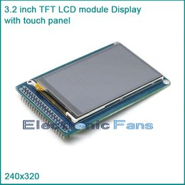Wholesale-3.2 inch 240x320 TFT LCD module Display with touch panel SD card than 128x64 lcd