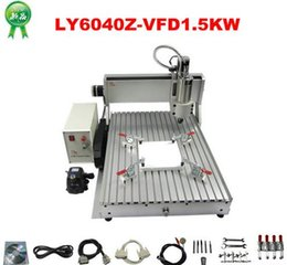 Wholesale Assembled CNC cutting machine Z VFD with W VFD CNC router milling lathe