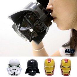 Wholesale Star Wars D Mug Cup Darth Vader Stormtrooper Iron Man Mug for Kids Creative Gift Cups And Mugs Coffee Tea Cup