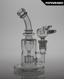 Wholesale 8 quot Tall FC glass Torus bong Recycle glass bongs FC oil rigs glass bongs sturdy smoking water pipes joint size mm small veriosn FC TORUS