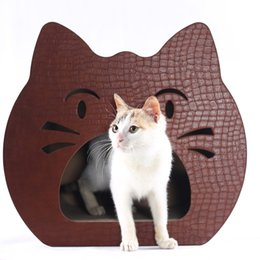 Wholesale Light green cat toy cat corrugated board furniture