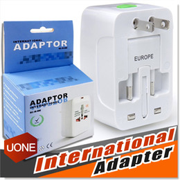 Wholesale Travel universal wall charger power adapter for plug Surge Protector Universal International Travel Power Adapter Plug US UK EU AU AC Plug