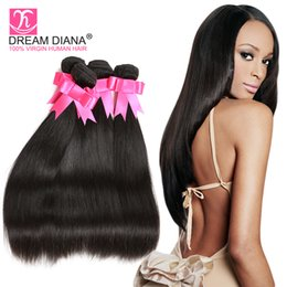 grade 6a brazilian straight hair Unprocessed Virgin Brazilian Kinky Straight Hair 3 Bundles Brazilian Straight Unprocessed Hair For Sale