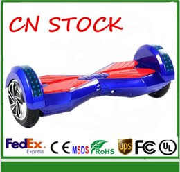 8 INCH Scooter Electric Balance Scooter 2 wheels self balancing Electric scooter LED Scooter Bluetooth hoverboard Unicycle