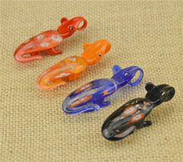 2016 Glass Pendants Necklace Murano Glass Jewelry Animal crocodile Shaped Lampwork Glaze Pendant in Cheap 12pcs