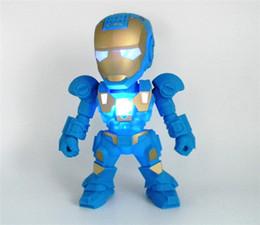 Boîte de haut-parleur de radio en Ligne-Le plus récent C-89 Iron Man Transformateur Robot Conception Bluetooth Mini Haut-parleur Clignotant Portable sans fil Hifi Music Player Box FM Radio