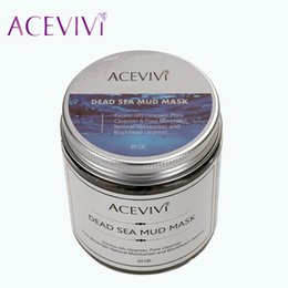 Wholesale Acevivi Brand Deep Cleaning Skin Care Blackhead Remover Canned Dead Sea Mud Facial Mask Pore Cleanser