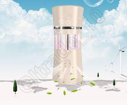 Wholesale Portable Aromatherapy Air Purifier Scented Fragrance Energy Odor Eliminator Car Household Deodorizing Scents LED Air Freshener LJJQ70