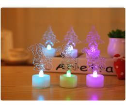 Fashion Christmas ABS Beautiful Christmas tree Santa Claus LED Night Light Lamp for Christmas Decoration Night Lamp