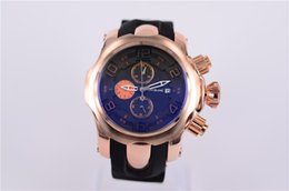 Wholesale Hot sales of luxury large watch man charm bell rose gold watch high quality free delivery