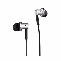 Wholesale 2016 best selling XIAOMI Hybrid Piston Dual Driver Earphone Stereo In Ear Circle Iron Balanced Armature Mic For Xiao Mi Android