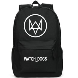 Watch dogs backpack Animal design school bag Cool daypack Quality schoolbag New game play day pack