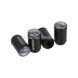 Car Wheel Tire Valve Caps Air Valve Caps For Volvo All Models 4pcs valve solenoid tire valve stem extension