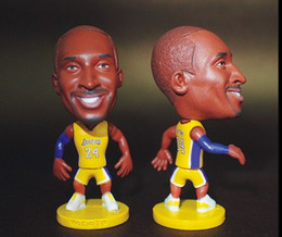 Wholesale Miniverse America Basketball Team Los Angeles Lake Number Kobe Bryant Doll Resin CM Height Yellow Kit
