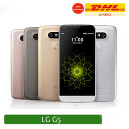 Quad lcd en Ligne-G5 MTK6580 Quad core 64bit 3G RAM 64G ROM montrée 4G LTE Android 6.0 LCD 5.0 pouces L G5 Wifi Smartphone pas étanche