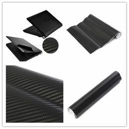 Wholesale 3D Carbon Fibre Skin Decal Wrap Sticker Case Cover For PC Laptop Notebook