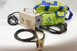Wholesale High quality portable IGBT DC Inverter welding machine MINI ARC160 stick MMA welder with handbag