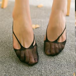 Good Elastic Mesh Low Cut Socks Women Fashion Solid Color Invisible Ship Socks Girls Sock Slippers