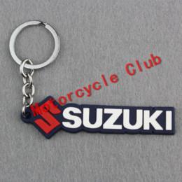 Wholesale Carbon Key Chain - Free shipping Keychain Key Chain Motorcycle accessories motocross motorbike parts Keyring for suzuki GSXR600 GSXR750 GSXR1000