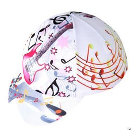 Wholesale Sports Hats Outdoor Cycling Hats Guitar Free size Anti UV Moisture absorption Wicking Dust proof Sun protection Antibacterial
