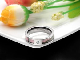 5mm Women's Pink Real Forest Tree Camo Titanium Wedding Ring with Small Cz Stone Size 5-10