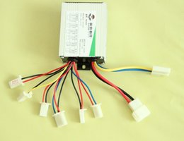 Wholesale V W DC electric bike scooter motor brushed controller speed control box engine generator DIY modified parts