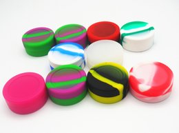 1000X Wholesale cheap Reusable Non-stick 11ml Silicone Jar Dab Wax Container Silicon Containers