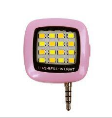 Built-in 16 LED Lights LED FLASH for Camera Phone Support for Multiple Photography mini Selfie Sync LED Flash