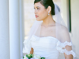 New Amazing Luxury Elegant Top Quality Best Sale Romantic Elbow White Ivory Lace Applique veil Bridal Head Pieces For Wedding Dresses