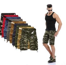 Wholesale mens shorts shorts for men cargo shorts pure cotton camo shorts men casual plus size men shorts