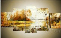 Wholesale Bathroom Background High Quality Large Wall Decor Picture For Living Room Set Oil Paintings African Home Decor Canvas Art