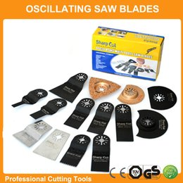 Wholesale Professional set Oscillating Tools Saw Blades Accessories fit for Multimaster power tool as Fein Dremel bosch dewalt makita etc