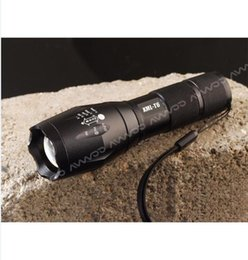 Wholesale Popular outdoor product Hot selling High Power CREE XML T6 Lumens LED Flashlights Zoomable light for xAAA or x18650 battery