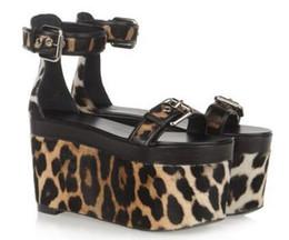2016 new women sandals round toe buckle wedges platform high heels sandals woman sandalias fashion sandals trendy party shoes shoes women