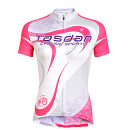 Tasdan China Supplier Cycling Jerseys Specialized Women Cycling Jerseys Fashion Outdoor Mountain Bike Jersey for Racing Biker