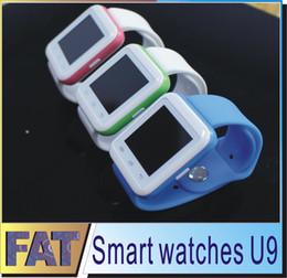 Nouvelle u8 bluetooth montre-bracelet à puce à vendre-Nouvelle montre intelligente U9 Upgrade U8 Bluetooth Smart Wrist pour Android IOS marque Téléphone Sport Fitness Tracker Message rappel pk DZ09
