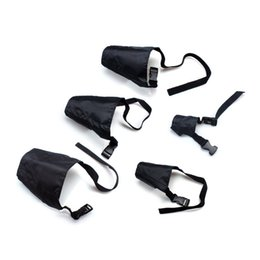 Pet Muzzle Adjustable Pet Small Medium Large Dog Black Breathable Muzzles for Anti-barking Chewing Biting Protection Pack of 5