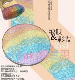 Wholesale 2016 calans Rainbow Highlighter Bitter Lace Beauty Blush Makeup six colours hot sale for summer